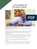 Majes II Será Modelo de Agricultura Para El País
