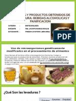 Procesos y Productos Obtenidos de La Levadura Bebidas Alcoholicas ARELI