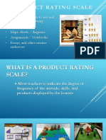 4. Product Rating Scale - Pierce