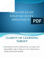 Principles of High Quality Assessment (Presentation)2