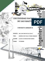 CALCULO ESTRUCTURAL DE CONCRETO ARMADO DE VIVIENDA-COMERCIO