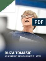 Ruza Tomasic - Aktivnosti u EP-u 2014. - 2018.