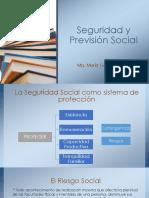 SEGURIDAD Y PREVISIÓN SOCIAL