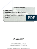 Madera - Quiroz Longa Miguel