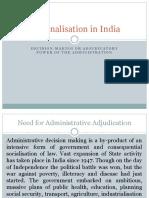 14.Tribunalisation in India
