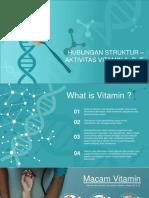 Hubungan Struktur-Aktivitas Vitamin A,D,dan E.pptx