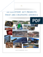100 Recovery Act Projects Changing America Report