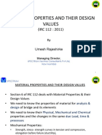 Umesh Rajshirke Material Properties and their design value.pdf