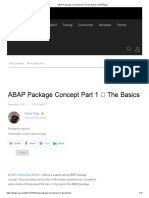 ABAP Package Concept Part 1 _ the Basics _ SAP Blogs