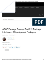 ABAP Package Concept Part 2 _ Package Interfaces of Development Packages _ SAP Blogs