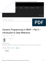 Dynamic Programming in ABAP – Part 2 – Introduction to Data Reference _ SAP Blogs
