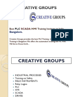 Best PLC SCADA HMI Training Institute in India, Bangalore