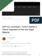 SAP Fiori Launchpad @Tutoraialpoint com   Application