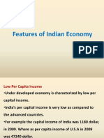 Features of Indian Economy
