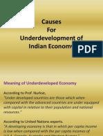 Causes of Underdevelopment