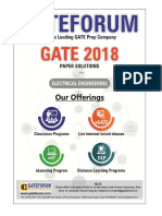 Gateforum EE GATE-2018 Solutions