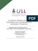 La Disfagia. Repercusiones y Tratamiento en La Enfermedad de Alzheimer y Parkinson.