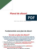 Prezentare Planul de Afaceri