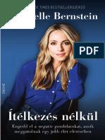 GABRIELLE BERNSTEIN - ÍTÉLKEZÉS NÉLKÜL