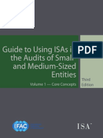 Guide to Using International Standards on Auditing in the Audits of Small- And Medium-Sized Entities Volume 1—Core Concepts