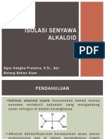 Isolasi Senyawa Alkaloid