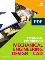 Mechanical Engineering Design CAD