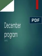 December Pres