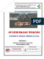 Justifikasi Teknis Cco-01 Pasar Bulila