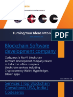 Blockchain Software development
