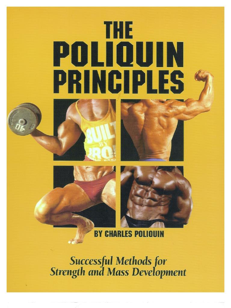 charles poliquin the poliquin principles rh scribd com