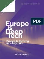 Deep Tech Global Survey 2017 Wavestone