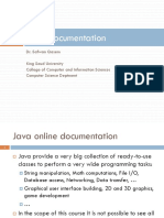 Chap 1.5 - Java Documentation