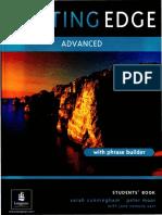 Cutting Edge Advanced Students Book PDF