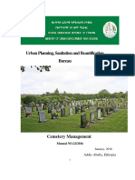 Cemetery Manual