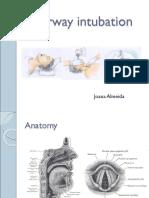 Airway Intubation