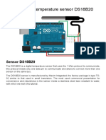 Tutorial Digital Temperature Sensor DS18B20