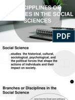 Branches of Social Science