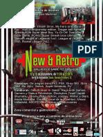 New&Retro 2018 Programa