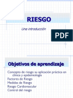 Medida de Riesgo