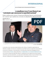 """China Detiene a Otro Canadiense Tras El 'Caso Huawei' Por """"Actividades Que Amenazan La Seguridad Nacional"""" _ Internacional _ EL PAÍS"""