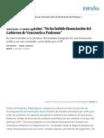 """Directo _ Pablo Iglesias_ """"No Ha Habido Financiación Del Gobierno de Venezuela a Podemos"""" _ España _ EL PAÍS"""