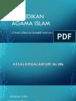 Pendidikan Agama Islam Pp