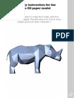 Rhino Instruction