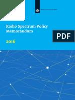 Netherlands Radio Spectrum 2016