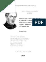 Monografia Sobe La Importancia de Las Tic en El Procceso de Enseñanza- Aprendizaje en El Iespp Toribio Rodriguez de Mendoza