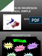 Analisis de Regresion Lineal Simple