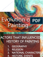 Evolution of Painting
