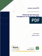 NT PR 004-2018 Recursos Energeticos 2050