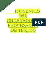 Partes Del Ordenador Iago Villarino
