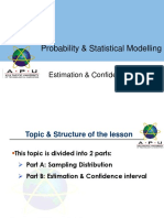 5_Estimation Confidence Interval